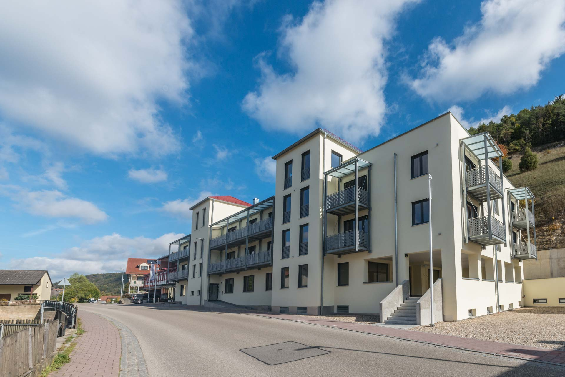 Das Hotel Heckl in Enkerling