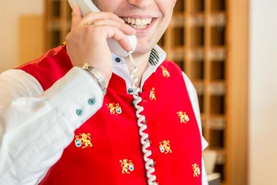 Service im Hotel Heckl in Enkerling